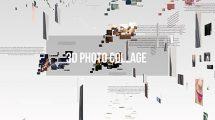 پروژه افترافکت گالری عکس سه بعدی 3D Photo Gallery