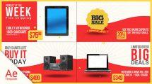 پروژه افترافکت تیزر تبلیغاتی فروش ویژه Big Sale
