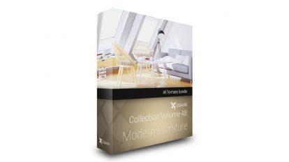 مجموعه مدل سه بعدی مبلمان مدرن CGAxis Models Volume 48 Modern Furniture