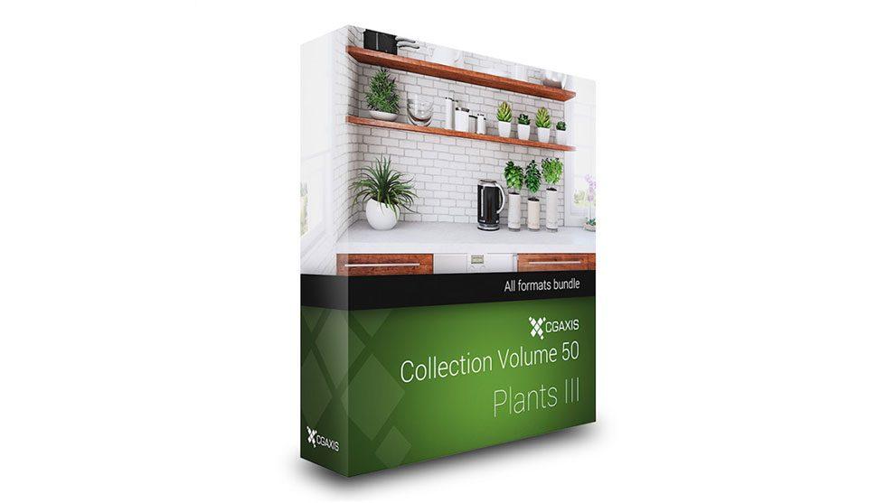 مجموعه مدل سه بعدی گیاهان CGAxis Models 50 Plants iii