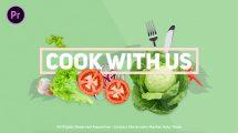 پروژه پریمیر افتتاحیه آشپزی Cooking Show Bumper