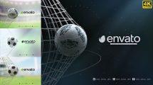 پروژه افترافکت نمایش لوگو گل فوتبال Football Goal