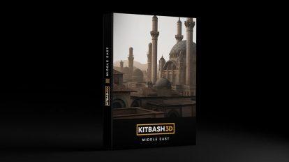 مدل سه بعدی محیط خاور میانه Kitbash3D Middle East