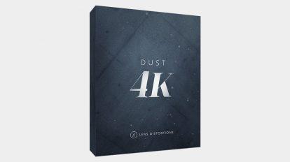مجموعه فوتیج ویدیویی گرد و غبار Lens Distortions Dust 4K