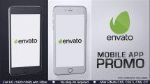 پروژه افترافکت تیزر تبلیغاتی اپلیکیشن Mobile App Promo