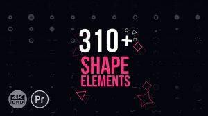 پروژه پریمیر مجموعه المان موشن گرافیک Motion Elements Pack
