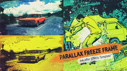 پروژه افترافکت تریلر با افکت پارالکس Parallax Trailer