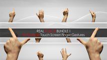 مجموعه فوتیج ویدیویی حرکت دست روی تاچ اسکرین 1