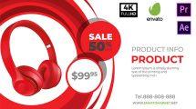 پروژه افترافکت تیزر تبلیغاتی فروش محصولات Sale Promo