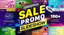 پروژه افترافکت تیزر تبلیغاتی فروش ویژه Sale Promo Slideshow