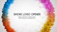 پروژه افترافکت افتتاحیه لوگو Smoke Logo Opener
