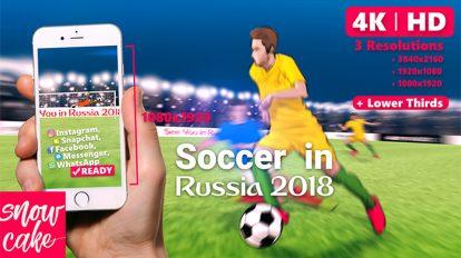 پروژه افترافکت افتتاحیه فوتبال Soccer