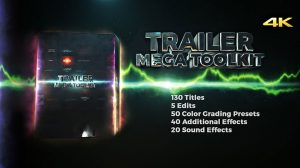 پروژه افترافکت مجموعه ابزار ساخت تریلر Trailer Mega Toolkit
