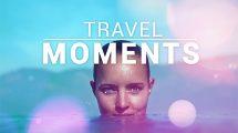 پروژه افترافکت اسلایدشو لحظات سفر Travel Moments