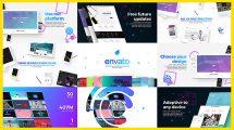 پروژه افترافکت تیزر تبلیغاتی بازاریابی خدمات وبسایت