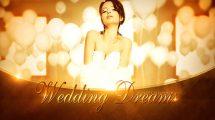 پروژه افترافکت افتتاحیه رویای عروسی Wedding Dreams