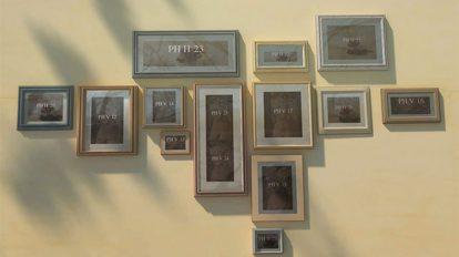 پروژه افترافکت افتتاحیه عکس های عروسی Wedding Frames