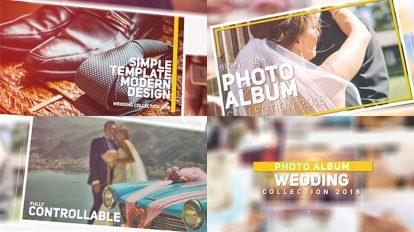 پروژه افترافکت نمایش تصاویر آلبوم عروسی Wedding Photo Album