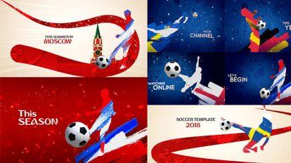 پروژه افترافکت مجموعه افتتاحیه جام جهانی فوتبال