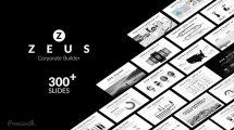 پروژه افترافکت ساخت ویدیو پرزنتیشن شرکتی Zeus Corporate Builder