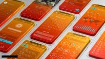 پروژه افترافکت تیزر تبلیغاتی اپلیکیشن 3D Screens App Promo