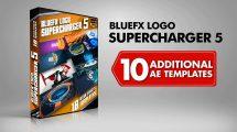 پروژه افترافکت مجموعه نمایش لوگو Logo Supercharger 5