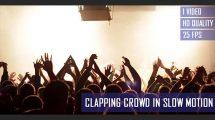 فوتیج ویدیویی اسلوموشن هیاهوی جمعیت کنسرت