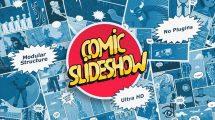 پروژه افترافکت اسلایدشو کمیک Comic Slideshow