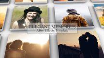 پروژه افترافکت نمایش خاطرات Elegant Memories