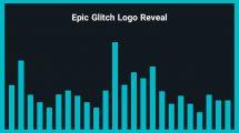 موزیک زمینه لوگو Epic Glitch Logo Reveal