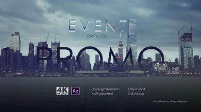 پروژه افترافکت افتتاحیه مراسم Event Promo