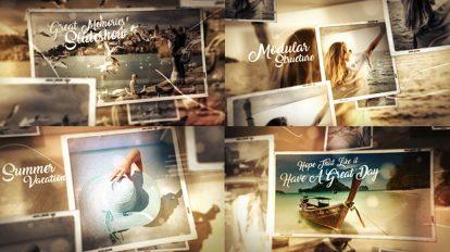 پروژه افترافکت گالری عکس اوقات خوش Great Times Photo Gallery Slideshow