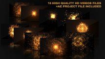 مجموعه ویدیوی موشن گرافیک انفجار داغ Hot Explosions