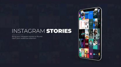 پروژه افترافکت مجموعه 30 استوری اینستاگرام Instagram Stories
