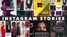 پروژه افترافکت مجموعه استوری اینستاگرام Instagram Stories 5