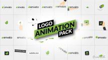 پروژه افترافکت مجموعه نمایش لوگو مینیمال Logo Animation Pack