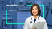 پروژه افترافکت تیزر تبلیغاتی بیمه درمانی پزشکی Medical Insurance Agency