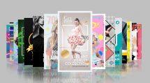 پروژه افترافکت مجموعه 30 اسلاید تبلیغاتی Promo Pack