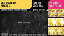 مجموعه ویدیوی موشن گرافیک ذرات معلق Real Particles Bundle 2