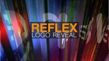 پروژه افترافکت نمایش لوگو بازتاب Reflex Logo Reveal