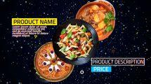 پروژه افترافکت تیزر تبلیغاتی رستوران 4K Restaurant Product Promo