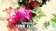 اکشن فتوشاپ انیمیشن پخش جوهر Animated Ink Flow