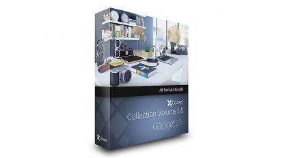مجموعه مدل سه بعدی لوازم تزیینی دکور CGAxis
