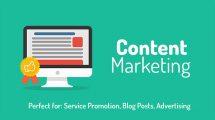 پروژه افترافکت افتتاحیه بازاریابی محتوا Content Marketing