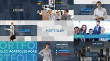 پروژه افترافکت پرزنتیشن کسب و کار Global Business Presentation