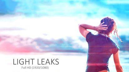 مجموعه 20 ویدیوی موشن گرافیک افکت نشتی نور Light Leaks Pack