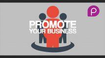 پروژه افترافکت تیزر تبلیغاتی کسب و کار Promote Your Business