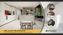 پروژه افترافکت پرزنتیشن مشاور املاک Real Estate Presentation