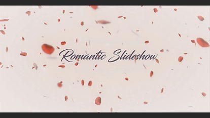 پروژه افترافکت اسلایدشو عاشقانه Romantic Slideshow