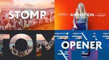 پروژه افترافکت افتتاحیه سریع Stomp Opener